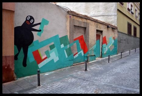 febrero 2013. Fotografía cedida por Madrid Street Arte Project