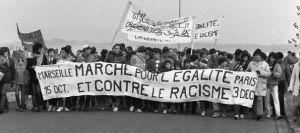 La Marche des beurs, a su comienzo en Marseille.