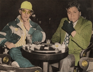 Hunter Thompson y Oscar Acosta en 1971