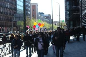 Llegada a Atocha desde Embajadores