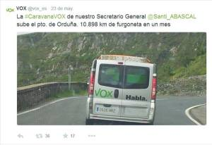 VOX A ORDUÑA